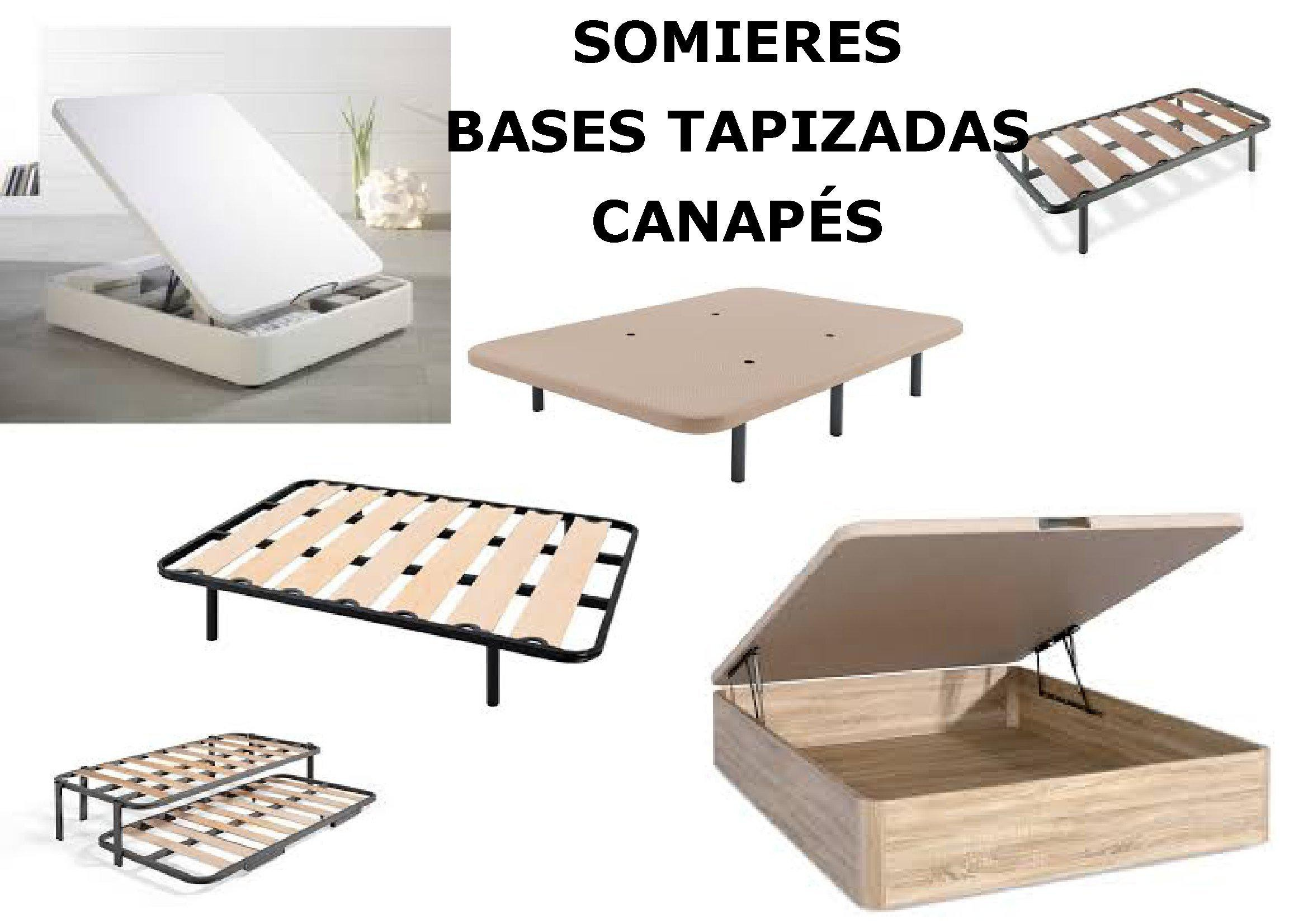 somieres, bases y canapes